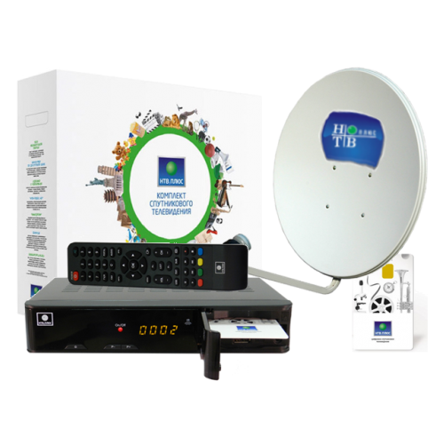 Комплект спутникового телевидения НТВ-Плюс с приемником NTV-Plus VA 1 HD PVR